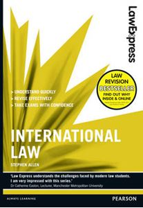 Picture of Law Express: International Law (Revision Guide)