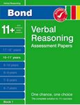 Picture of Verbal Reasoning Assessment Papers 11+
