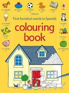 Picture of First 100 Words in Spanish (Colouring Book)