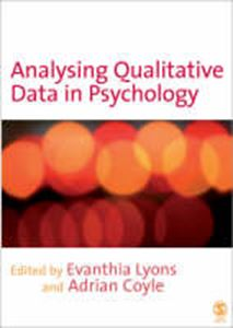 Picture of Analysing qualitative data & Psychology