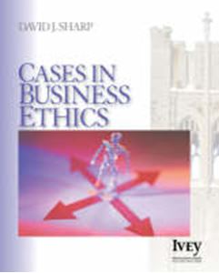 Picture of Cases in business ethics