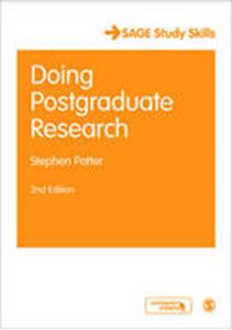 Picture of Doing Postgraduate Research 2ed