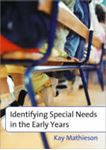Picture of Identifying Special Needs in the early years
