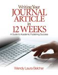 Picture of Writing Your Journal Article in Twelve Week