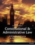 Picture of Constitutional And Administrative Law 16ed