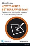 Picture of How To Write Better Law Essays 3ed