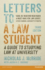 Picture of Letters to a Law Student: A Guide to Studying Law at University 3ed