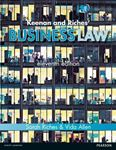 Picture of Keenan and Riches' Business Law MyLawChamber Pack 11ed with MyLawChamber Access Code