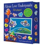 Picture of Aliens Love Underpants! Fuzzy Felt
