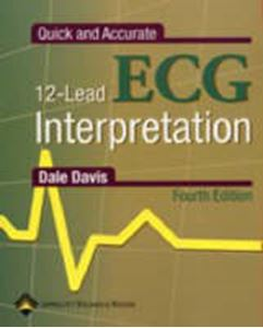 Picture of Quick and Accurate 12 Lead ECG Interpretation 4ed