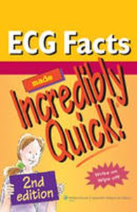 Picture of ECG facts Made Incredibly Quick! 2ed