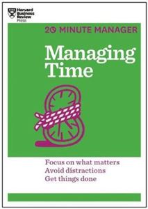 Picture of Managing Time (20-Minute Manager Series)