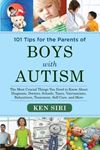 Picture of 101 Tips for the Parents of Boys with Autism: The Most Crucial Things You Need to Know About Diagnosis, Doctors, Schools, Taxes, Vaccinations, Babysitters, Treatment, Food, Self-Care, and More