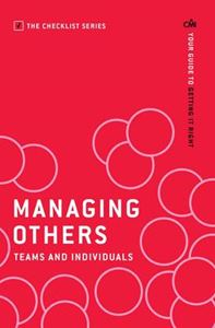 Picture of Managing Others: Teams and Individuals