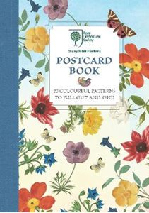 Picture of RHS Postcard Book: 20 Colourful Patterns to Pull Out and Send