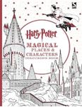Picture of Harry Potter Magical Places and Characters Colouring Book