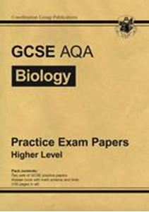 Picture of GCSE AQA Biology Practice Exam Papers Higher Level