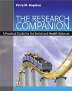 Picture of Research Companion: Practical Guide for the Social and Health Sciences