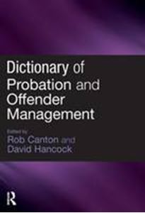 Picture of Dictionary of probation & offender management
