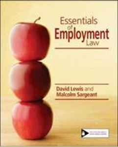 Picture of Essentials of Employment Law