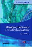 Picture of Manging Behaviour in the Lifelong Learning Sector