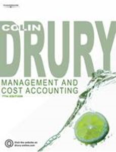 Picture of Management and Cost Accounting 7ed