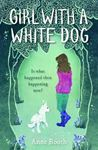 Picture of Girl with a White Dog