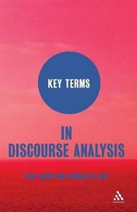 Picture of Key Terms In Discourse Analysis