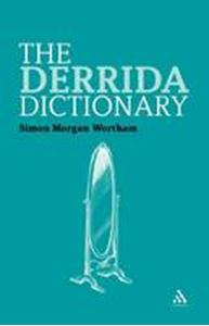 Picture of Derrida DIctionary