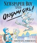 Picture of Newspaper Boy and Origami Girl