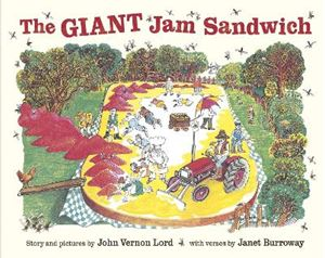 Picture of Giant Jam Sandwich