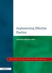 Picture of Implementing Effective Practice:Individual education plans