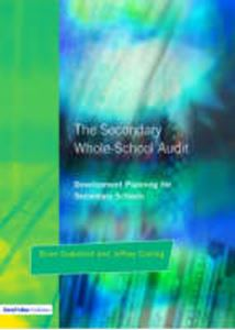 Picture of Secondary Whole-school Audit:Development planning for secondary schools
