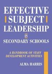 Picture of Effective Subject Leadership in secondary schools