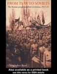 Picture of From Tsar to Soviets: Russian People and Their Revolution, 1917-21