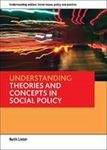 Picture of Understanding Theories and Concepts in Social Policy