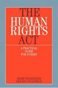 Picture of Human Rights Act : A Practical Guide for Nurses