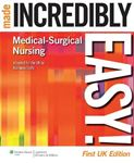 Picture of Medical-surgical Nursing Made Incredibly easy!