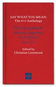 Picture of Say What You Mean: N+1, The Anthology