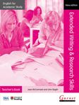 Picture of English for academic study:Extended writing & research skills Teacher's book