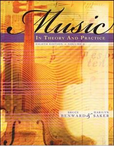 Picture of Music in theory & practice Vol 2 8ed