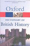 Picture of Oxford Dictionary of British History
