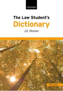 Picture of Law Student's Dictionary