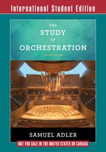 Picture of Study of Orchestration 4ed
