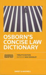 Picture of Osborn's Concise Law Dictionary