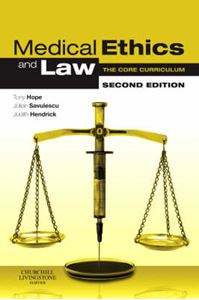 Picture of Medical Ethics and Law 2ed