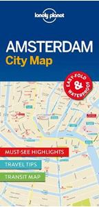 Picture of Lonely Planet Amsterdam City Map