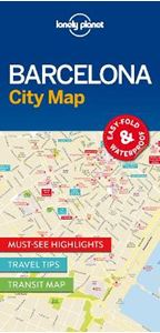 Picture of Lonely Planet Barcelona City Map