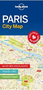 Picture of Lonely Planet Paris City Map