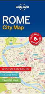 Picture of Lonely Planet Rome City Map